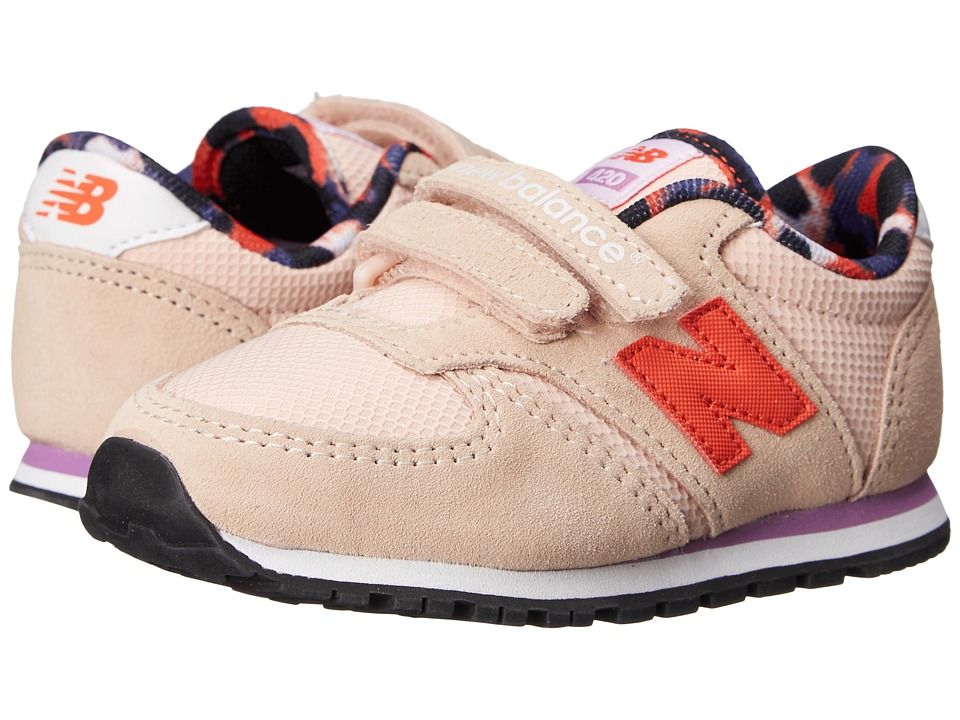 New Balance Kids Classics 420 Infant/Toddler Pink/Purple Girls Shoes