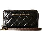 Dooney & Bourke City Woven Zip Around Phone Wristlet