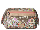 Sakroots Artist Circle Carryall Cosmetic (Slate Songbird)
