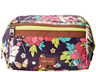 Sakroots Artist Circle Carryall Cosmetic (Violet Flower Power)