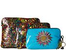 Sakroots Artist Circle 3 Piece Cosmetic Set (Rainbow Spirit Desert)