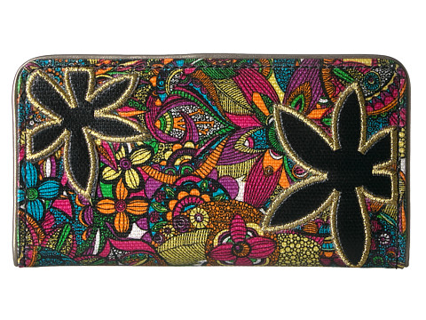 Sakroots Artist Circle Slim Wallet - Rainbow Spirit Desert
