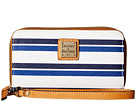 Dooney & Bourke Stonington Zip Around Phone Wristlet