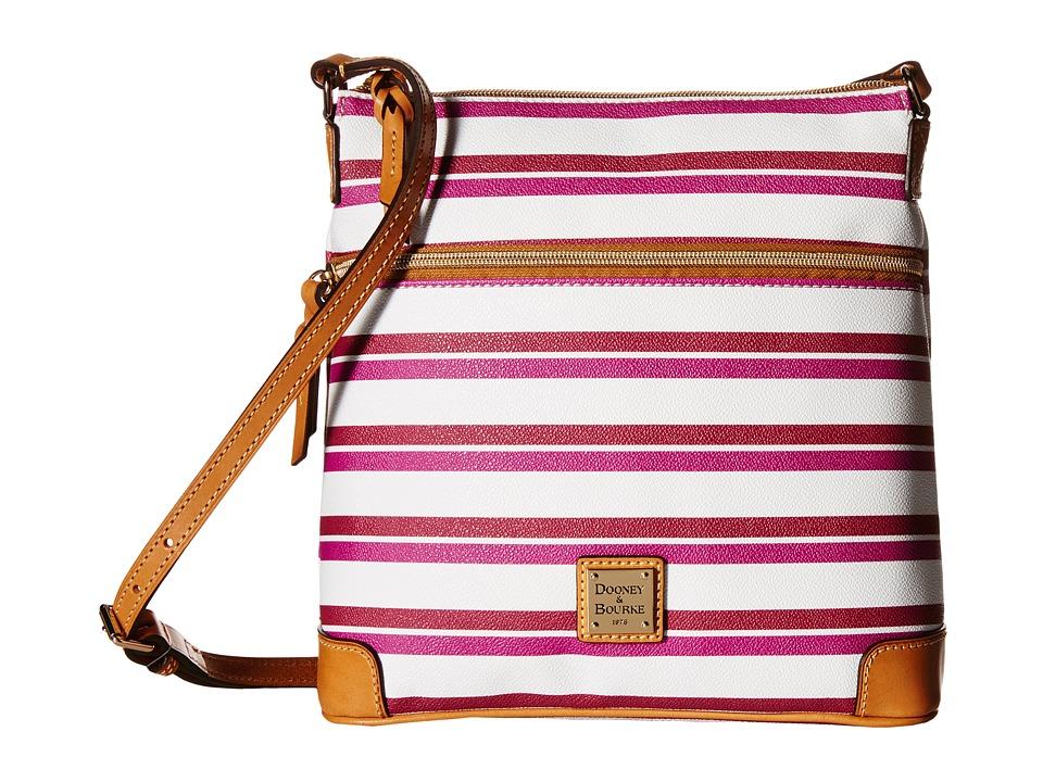 Dooney & Bourke - Stonington Crossbody (Magenta/Orchid/White/Butterscotch) Cross Body Handbags