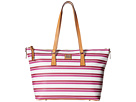 Dooney & Bourke Stonington Zip Top Shopper