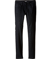 Hudson Kids - Repitition Skinny Jeans in Black/Daiquiri (Big Kids)