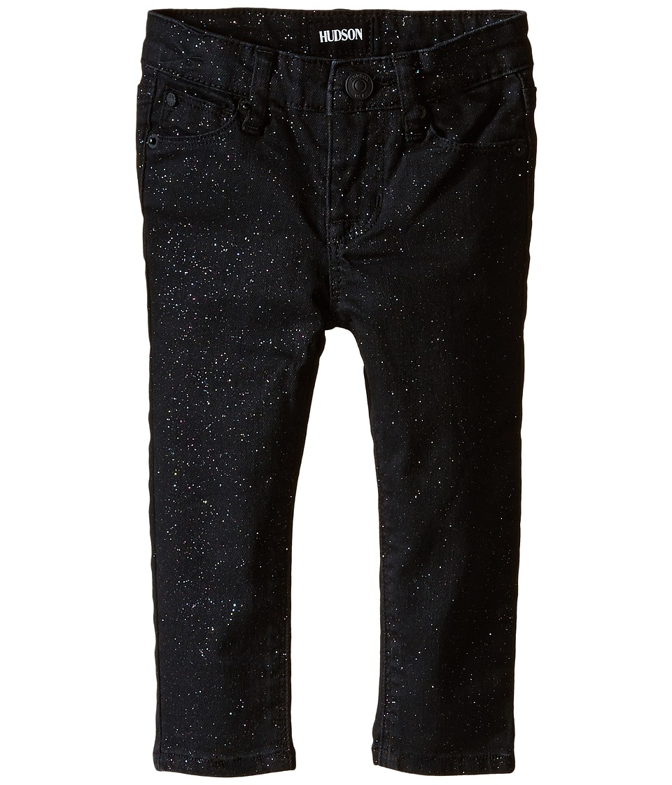 Hudson Kids Repitition Skinny Jeans in Black/Daiquiri Infant Black/Daiquiri Girls Jeans