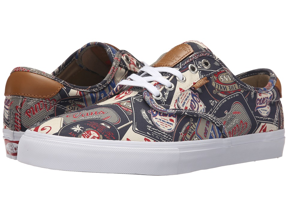 Vans - Chima Pro ((Labels) Navy/White) Men