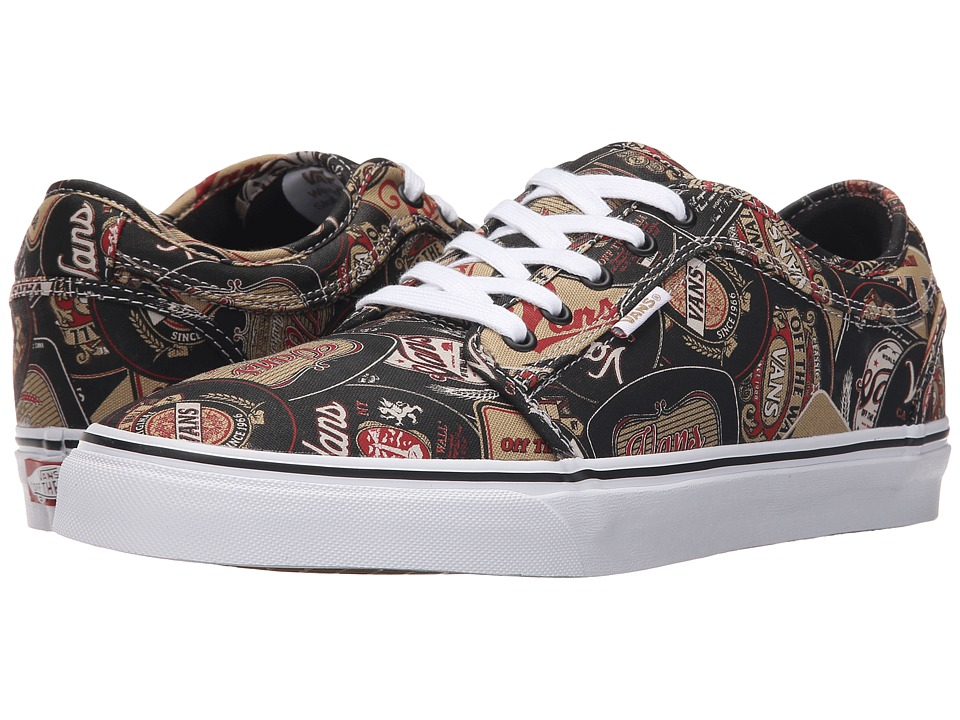 Vans - Chukka Low ((Labels) Black/Tan) Men