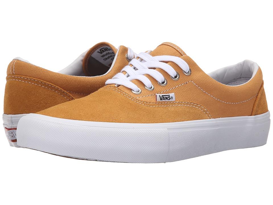 Vans Era Pro Spruce Yellow/White Mens Skate Shoes