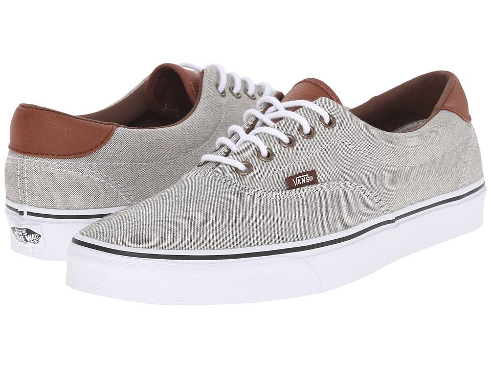 Vans Era 59 Oxford amp Leather Black/True White Skate Shoes