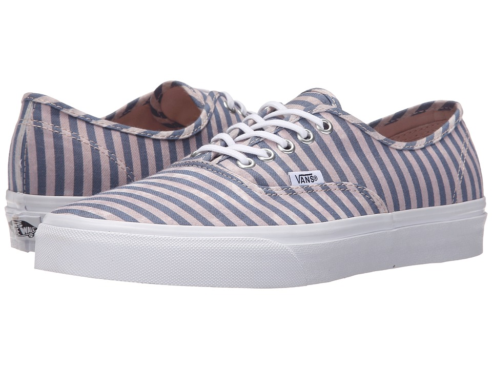 Vans Authentic Stripes Navy Skate Shoes