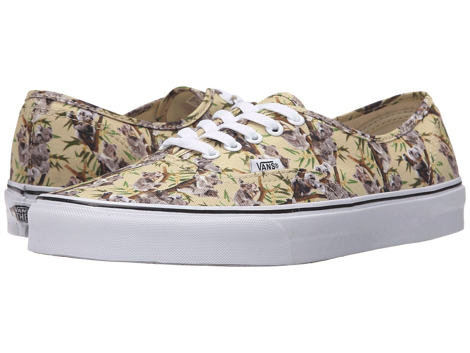 Vans Authentic Chambray Koala/True White Skate Shoes