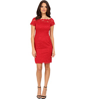 Adrianna Papell - Off The Shoulder Lace Sheath