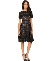 Adrianna Papell - Lace Finished Fit and Flare