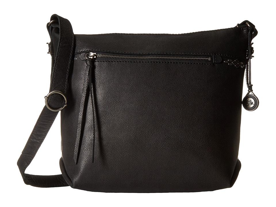 The Sak - Sierra Small Bucket (Black) Satchel Handbags
