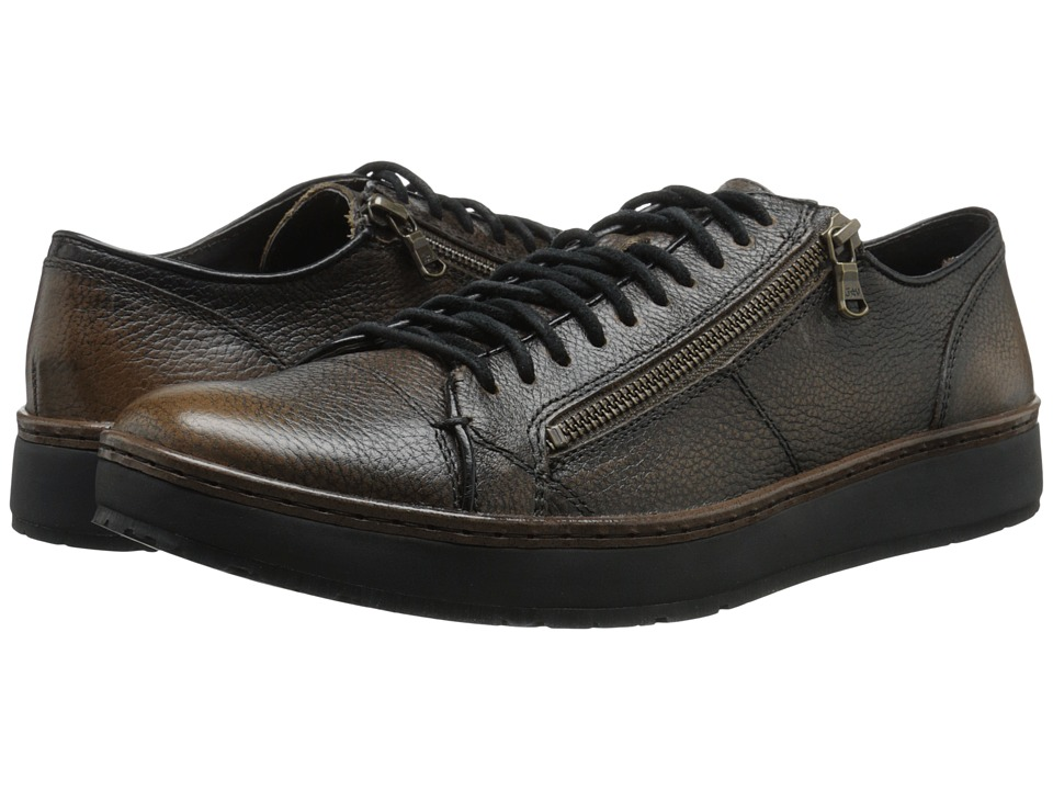 John Varvatos Barrett Creeper Low Top Walnut Mens Lace up casual Shoes