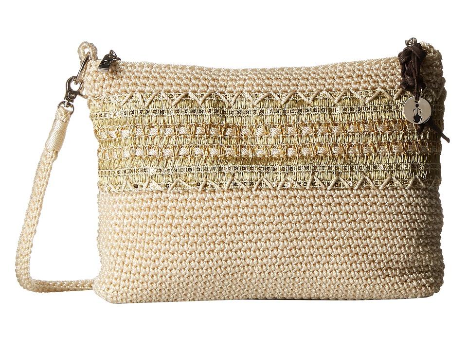 The Sak - Classic Minis 3-in-1 Clutch (Natural w/ Gold) Cross Body Handbags