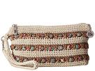 The Sak Casual Classics Large Wristlet (Eggshell Ribbon)