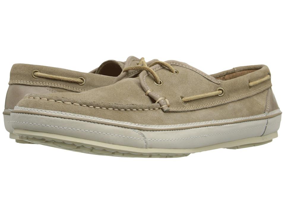 John Varvatos - Redding Boat Shoe (Desert Sand) Men