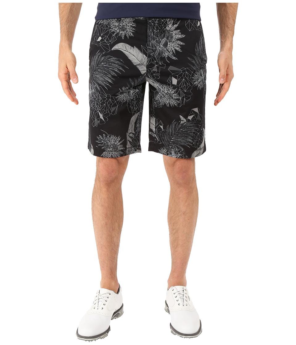 BOSS Green Liem2 Print W 101883 Black Mens Shorts