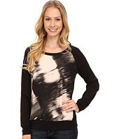 Calvin Klein Jeans - Long Sleeve Printed Voyeur Sweatshirt