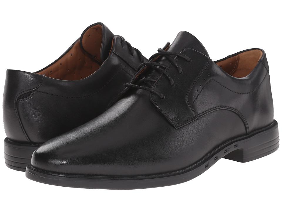 Clarks - Un.Bizley Plain (Black Leather) Men