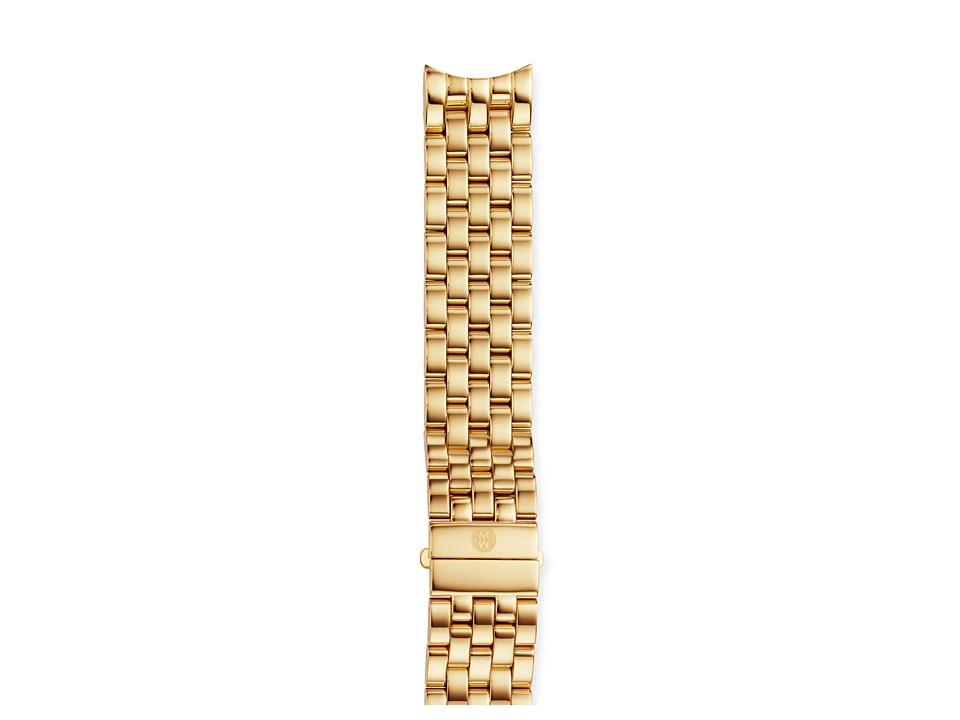 Michele Sport Sail 18mm Gold Bracelet Gold Watches