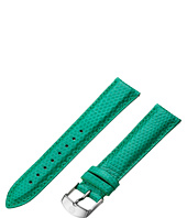 Michele - Strap 18mm - Emerald Lizard