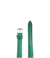 Michele - Strap 16mm - Emerald Lizard