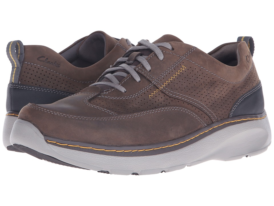 Clarks Charton Mix (Dark Brown Leather) Men