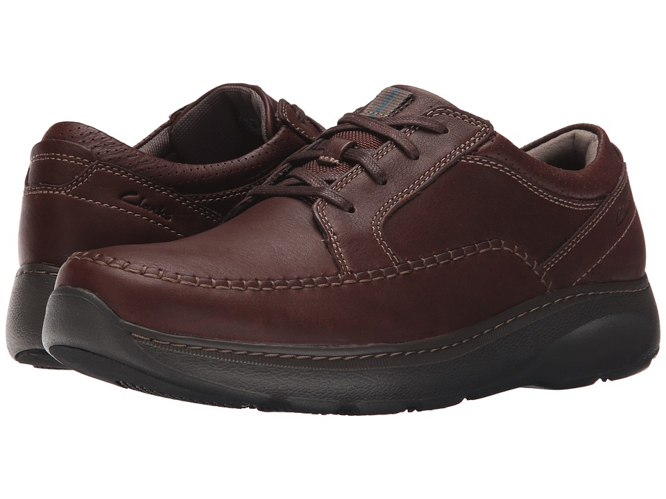 Clarks Charton Vibe (Brown Leather) Men