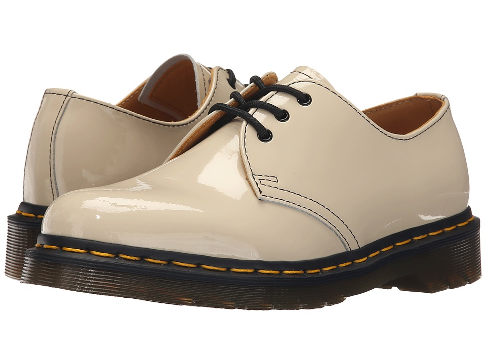 Dr. Martens 1461 3 Eye Gibson Porcelain Patent Lamper Womens Lace up casual Shoes
