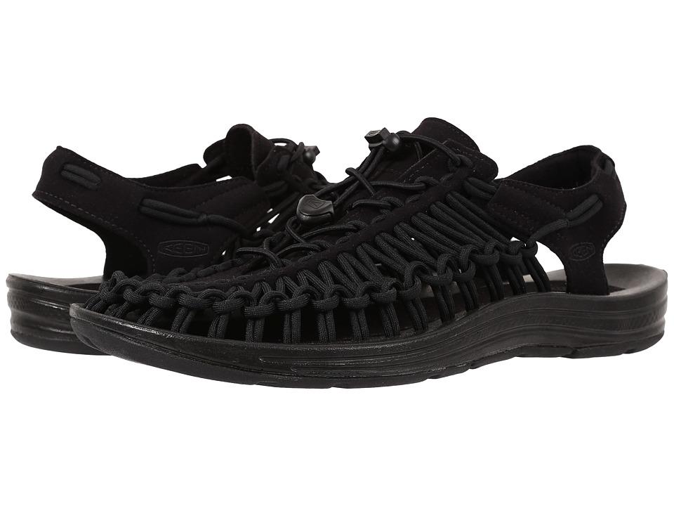 Keen - Uneek (Black/Black) Mens Shoes