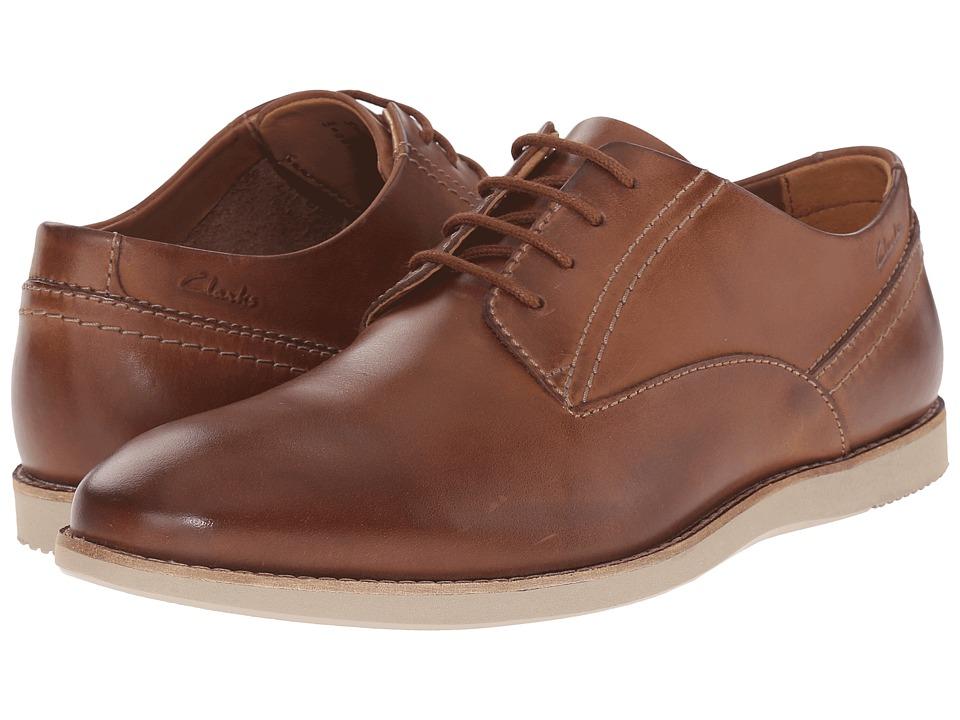 Clarks Franson Plain (Tan Leather) Men