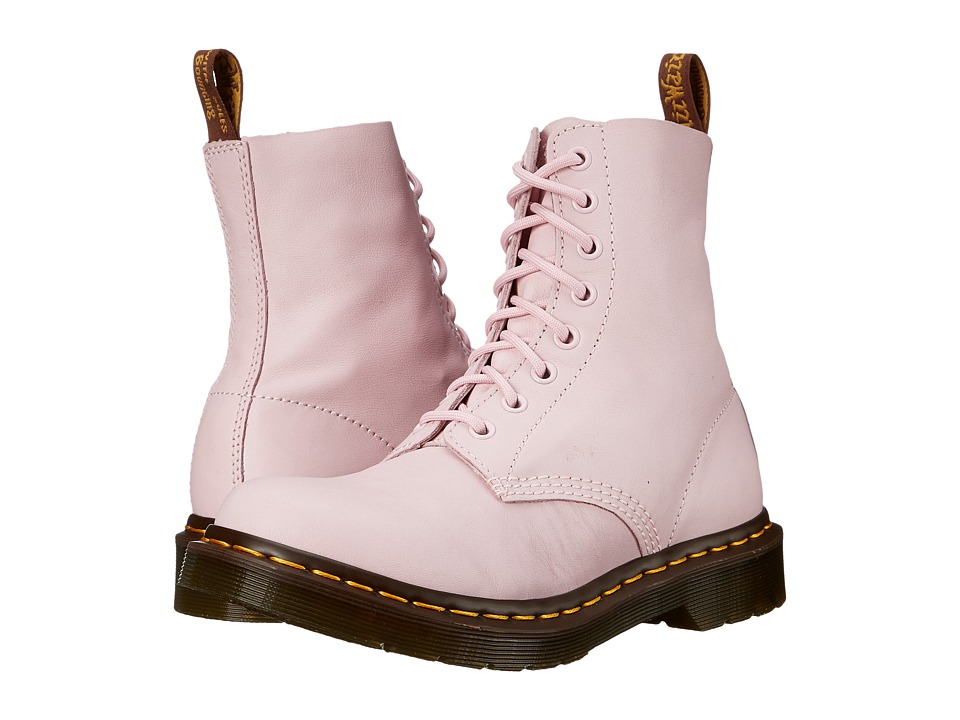 Dr. Martens Pascal 8 Eye Boot Bubblegum Virginia Womens Lace up Boots