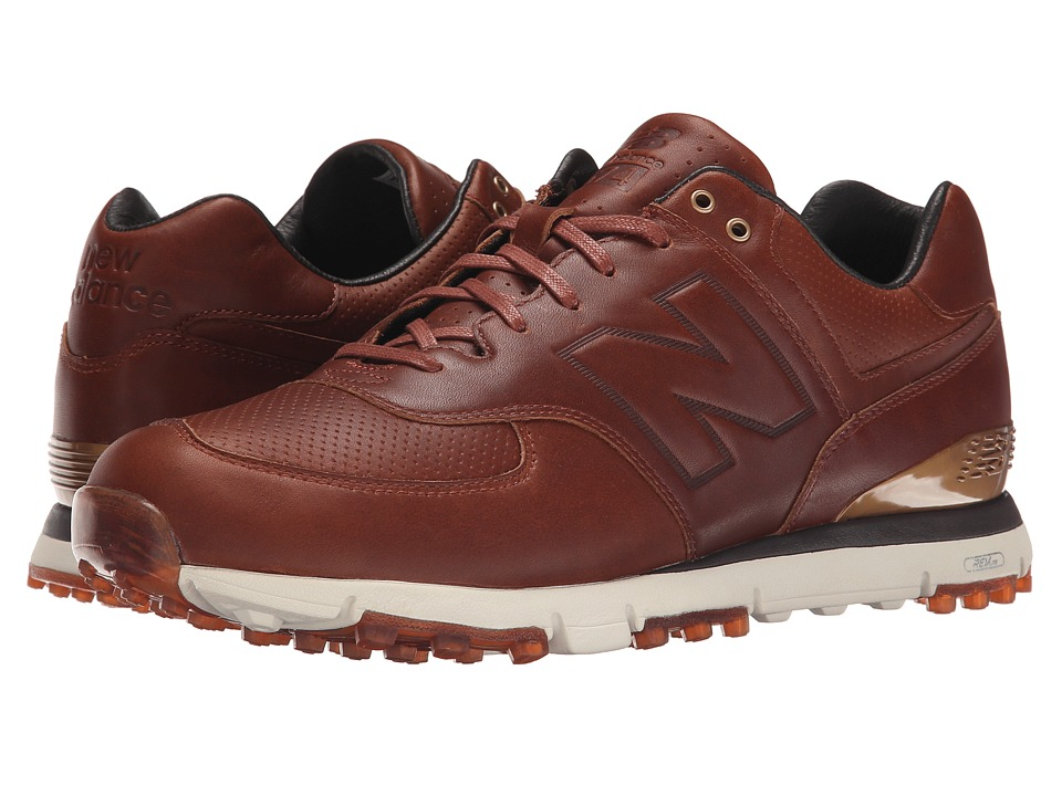 New Balance Golf NBG574LX (Brown) Men