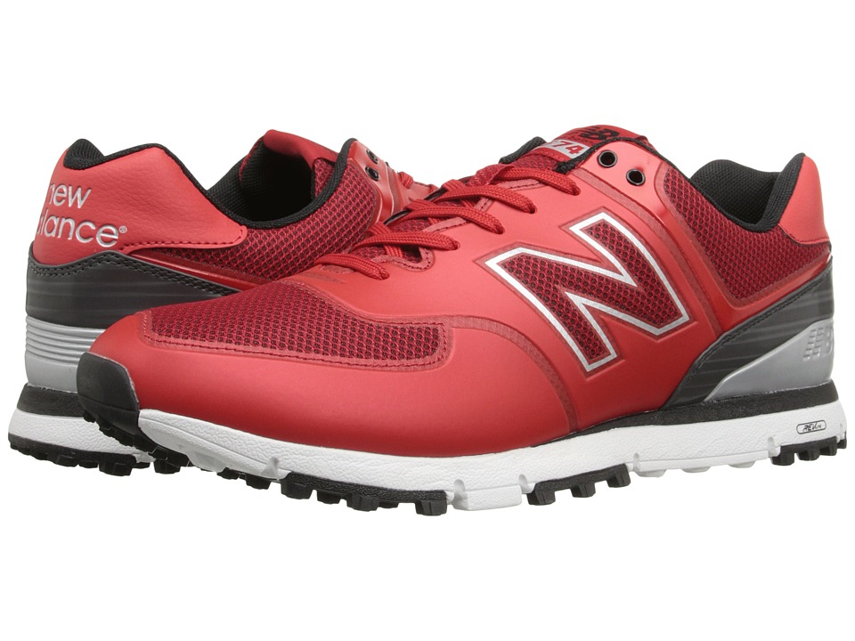 New Balance Golf NBG574B Red Mens Golf Shoes