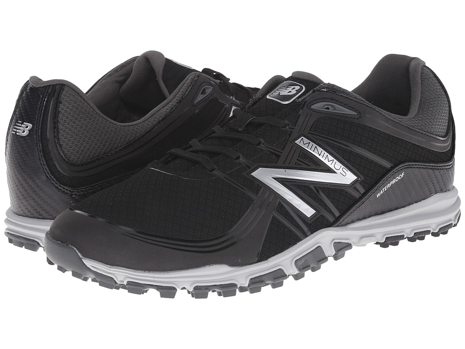 New Balance Golf NBG1005 Minimus Black Mens Golf Shoes