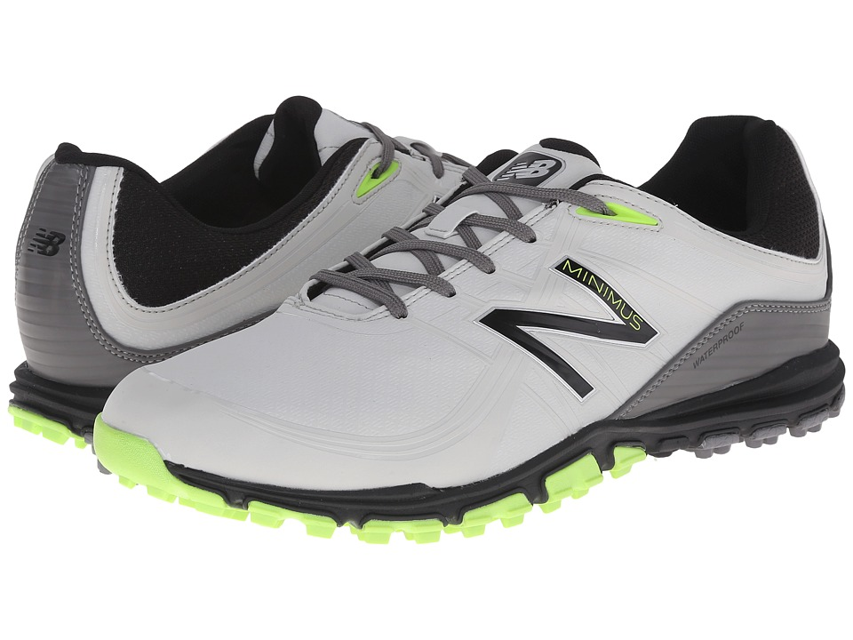 New Balance Golf NBG1005 Minimus Grey/Green Mens Golf Shoes