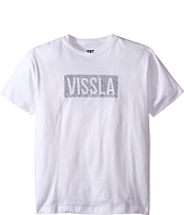 VISSLA Kids - Dungeons Short Sleeve Tee (Big Kids)