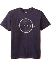 VISSLA Kids - Stranger Short Sleeve Tee (Big Kids)
