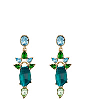 Oscar de la Renta - Crystal Resin P Earrings