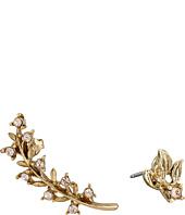 Oscar de la Renta - Crystal Leaf P Ear Cuff