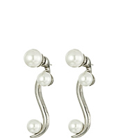 Oscar de la Renta - Sea Swirl Pearl P Earrings