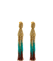 Oscar de la Renta - Ombre Tassel C Earrings