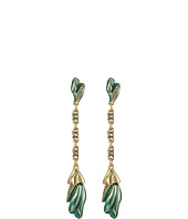 Oscar de la Renta - Tulip Pave P Earrings