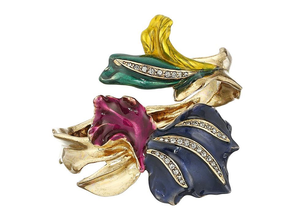 Oscar de la Renta Tulip Pave Bracelet Multi Bracelet