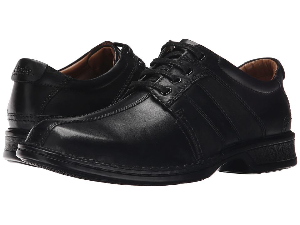 Clarks - Touareg Vibe (Black Leather) Men