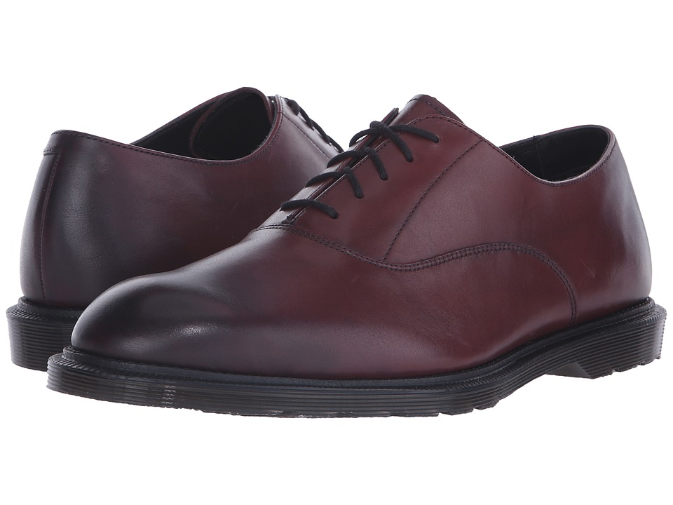 Dr. Martens - Fawkes Oxford Shoe (Cherry Red Temperley) Men